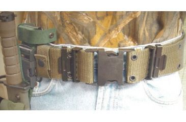 Leapers Marine Style Quick Release Pistol Belt PVC-B571B