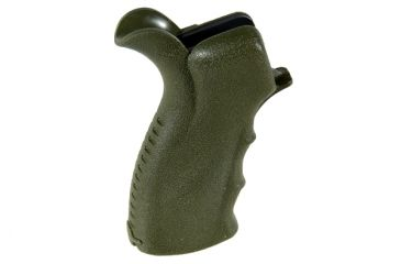 Leapers UTG Model 4/15 Ergonomic Pistol Grip, OD Green RB-TPG269G