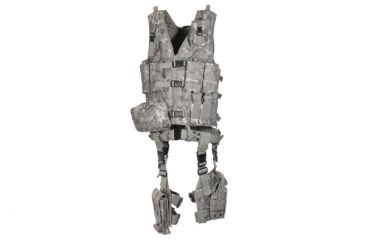 Leapers UTG Modular 10pc Tactical Vest - Army Digital PVC-V747KTR