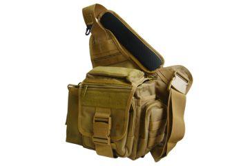 Leapers UTG Multi Functional Tactical Messenger Bag - Dark Earth
