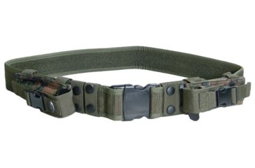 Leapers Heavy Duty Elite Law Enforcement Marine Woodland Digital Pistol Belt PVC-B950E