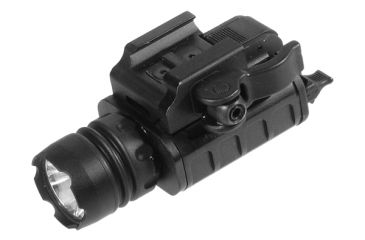 1-Leapers UTG Pistol Flash Light w/23mm LED IRB & Lever Lock Integral QD Mount