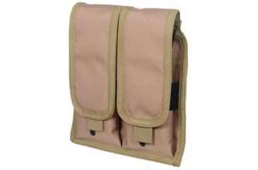 Leapers Web Universal Double Rifle Pouch with Drain Holes and Velcro Closure PVC-M503T