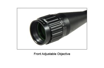 "Leapers UTG 1"" 4-16X40 AO True Hunter IE Scope w/ Zero Locking/Reset WE, Rings & Lens Cover SCP-U4164AOIEW"