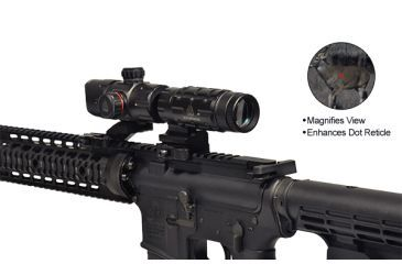 Leapers UTG 3x Red Dot Magnifier SCP-MF3WQS
