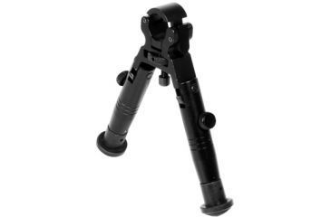 Leapers UTG Dragon's Claw Bipod w/ SWAT Combat Profile Fixed Height Clamp-on TL-BP18XS