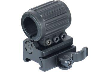 Leapers UTG Flip-to-Side 25mm Tactical Flashlight Ring w/QD Lever Lock Picatinny Mount RG-FL25QS