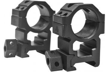 Leapers UTG Max Strength Picatinny Rings, 2pc, 1in, High Profile, Compact RG2W1204