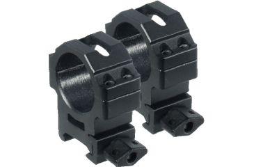 Leapers UTG Max Strength Picatinny Rings, 2pc, 30mm, Medium Profile, Compact RG2W3154