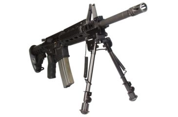 7-Leapers UTG Tactical OP Bipod w/ Picatinny and Swivel Stud Mount