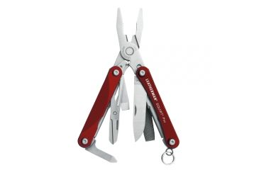 Leatherman Squirt Ps4, Red Hndl, Pkg Peg - 831188