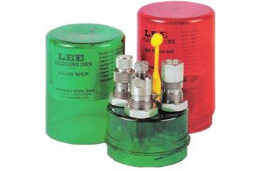 1-Lee Carbide 3 Die Set W/Shellholder For 38 Smith & Wesson 90569