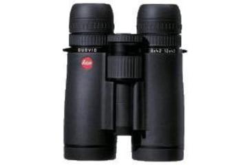 40400: Black Leica 8-12x42 Duovid binoculars