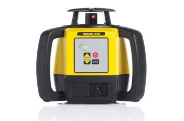 Leica Geosystems Rugby 620, Rotary Laser, Self Levelling, Manual Slope Single Axis, Yellow/Black 6008618