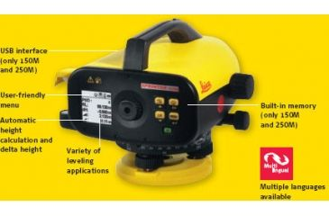 Leica Geosystem Sprinter 150 Electronic Level Device