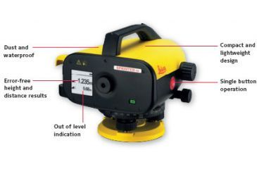 Leica Geosystems Sprinter 50 Electronic Level Device