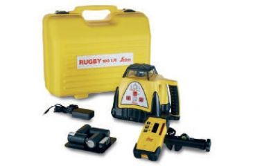 Leica Geosystems Rugby 100LR GC Package with Rod-Eye