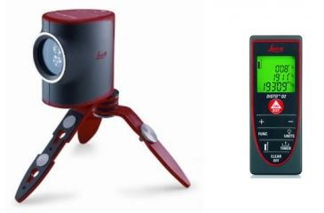 Leica DISTO Lino L2 Basic Bundle with D2 Distancemeter and Lino L2 Cross Laser Level