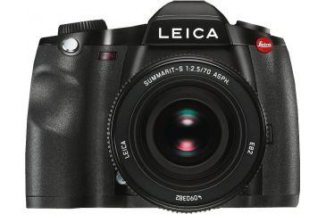 Leica S GPS Digital Camera, Black 10803