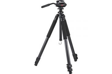 Leica Trica 3-Section Carbon Fiber Tripod w/ DH1 Fluid Head 42223