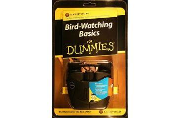 Leupold 8x25 Waterproof Binoculars & Bird Watching Basics For Dummies Book Kit 62355