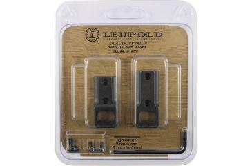 Leupold Dual Dovetail DD Base, 2 Piece, Matte Black 50044