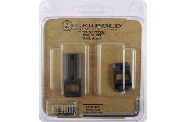 Leupold Dual Dovetail DD Base, 2 Piece, Matte Black 54241