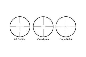 Available Reticles of Leupold FX-3 12x40 Riflescopes