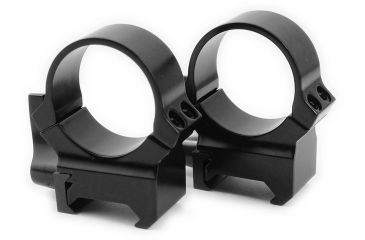 Leupold Quick Release Weaver Style Rings, High, Gloss Black 49864
