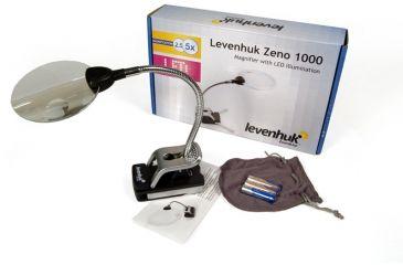 Levenhuk Zeno LED Magnifier, 88-21 mm, Silver, Medium 38119
