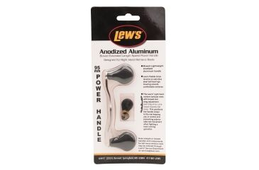 Lew's Bowed 95mm Replacement Fishing Rod Handle, Aluminum, 3.5in. 186577