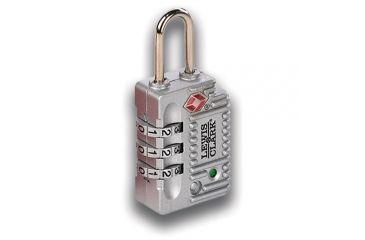 2-Lewis N Clark Travel Sentry Indicator Combo Lock w/ Status Alert