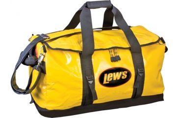 Lews Speed Boat Bag, Yellow/Black, 24in. 186605