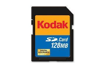 Lexar Kodak 128 MB Secure Digital SD Memory Card KPSD128SCS
