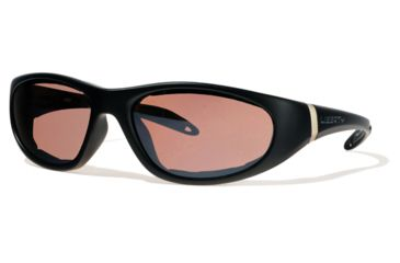 Liberty Sport Suns ESCAPADE 1 Protective Eyewear Matte Black Frame,Rose Amber Lens, Unisex ESCAP1MTBK6018135DSL