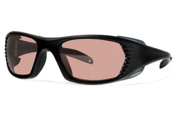 Liberty Sport Suns FREE SPIRIT Protective Eyewear Matte Black Frame,Rose Amber Lens, Unisex FREESPMBLK5718125DSL