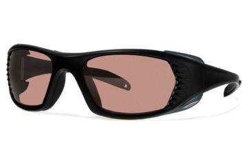 Liberty Sport Suns FREE SPIRIT XL Protective Eyewear Matte Black Frame,Rose Amber Lens, Unisex FREEXLMBLK5918125DSL