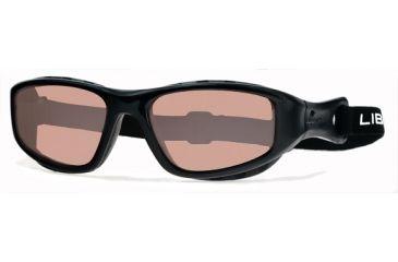 Liberty Sport Suns TRAILBLAZER 2 Protective Eyewear Translucent Black Frame,Rose Amber Lens, Unisex TRAIL2TRBK5919DSL