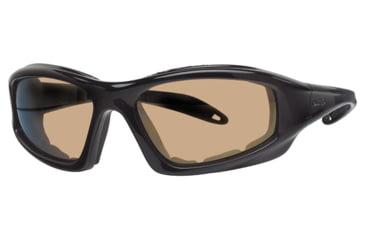 Liberty Sport Suns TORQUE 1 Protective Eyewear Translucent Black Frame,Brown Bronze Lens, Unisex RS-TQ1TBLK6017130BBM