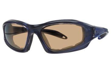 Liberty Sport Suns TORQUE 1 Protective Eyewear Translucent Blue Frame,Brown Bronze Lens, Unisex RS-TQ1TBLU6017130BBM