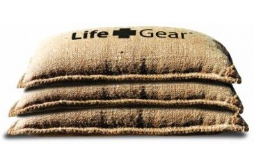 Life Gear Emergency Sand Bags, Pack of 10 LG166
