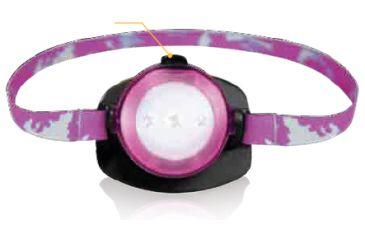Life Gear Pink Kids Headlamp