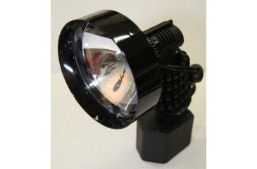 Lightforce Performance Lighting HID Hand Held 140mm Lance Spotlight, Coil Cord and Cig Plug, 12V 35W 3200 Lumens CBSLLHID