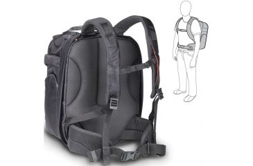 Manfrotto Lino Pro VII Backpack Backside