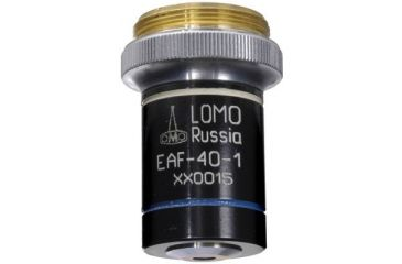 1-LOMO Objective, Achromat, 40x, 0.75 N.A., H2O Immersion, RMS