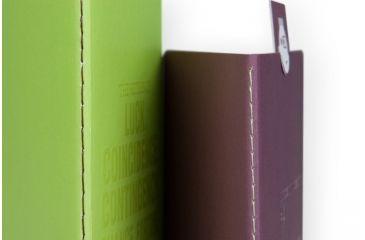Lomography ChapBook - Set 4, green andbordeaux 223