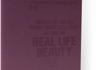 Lomography ChapBook - Set 4, green andbordeaux 223