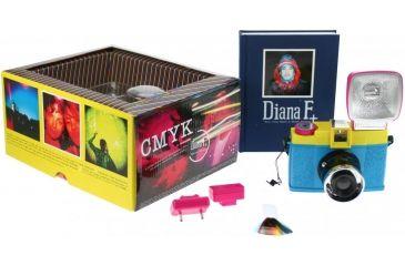 Lomography Camera Diana F+ CMYK 579 package