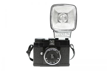 Lomography Black Diana Mini Camera With Flash