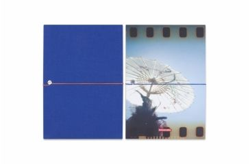 Lomography Photo Accordion - Landscape 2, blue andphoto 228